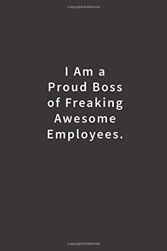 Proud Boss Notebook