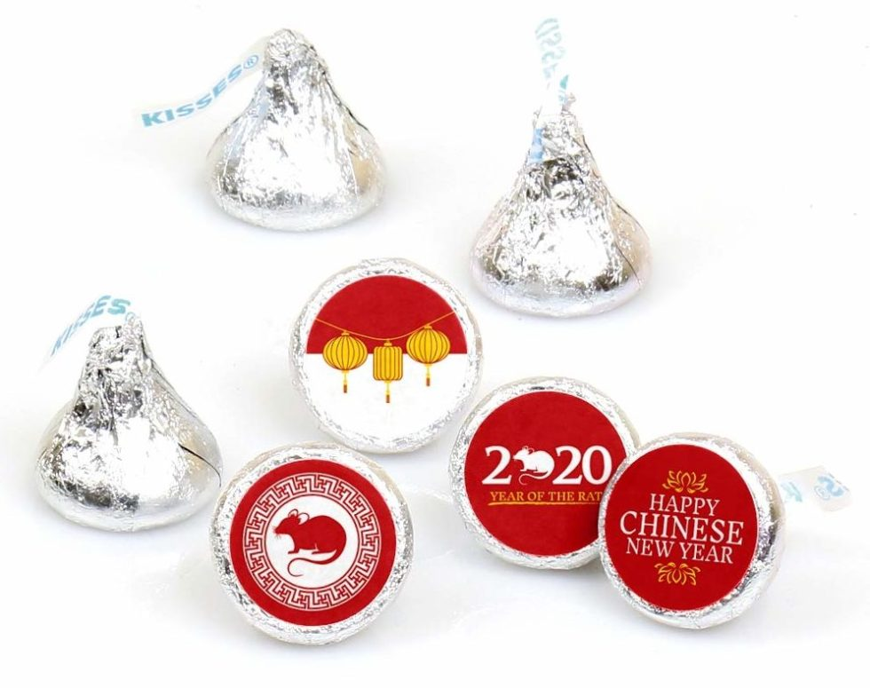 Year of the Rat Kisses Labels