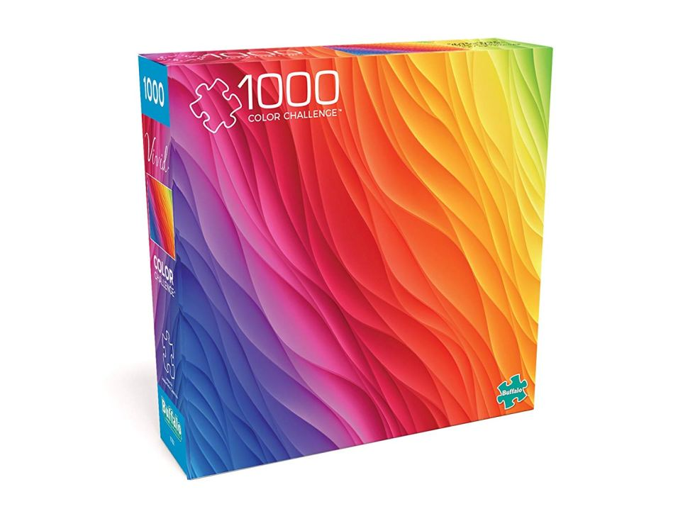 Color Challenge hard jigsaw puzzle gift
