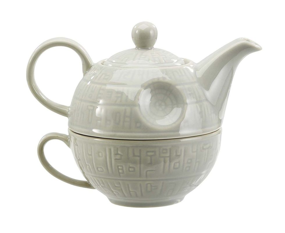 Death Star Teapot and Mug for Star Wars Day gifts