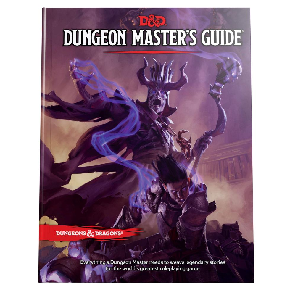 Dungeon Master Guide D&D essentials