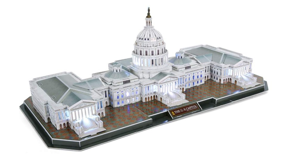 This LED Capitol 3D Puzzle makes a fun gift for lovers of politics
