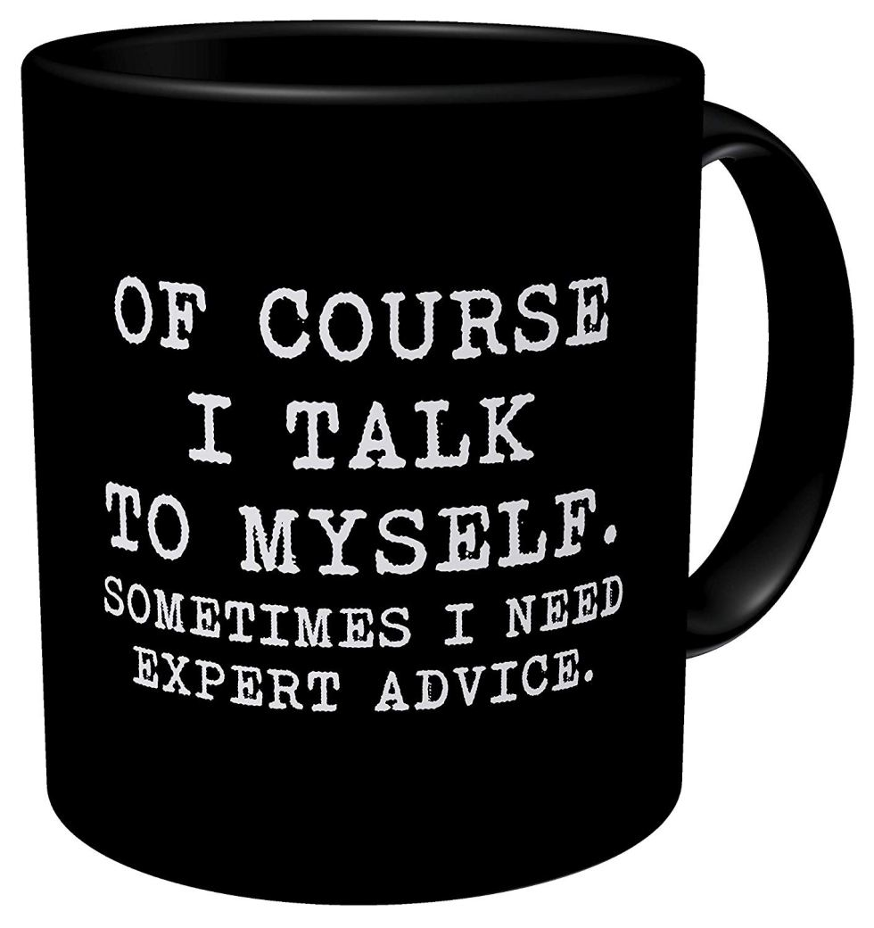 Talk To Myself Mug
