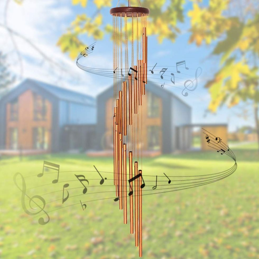 Cascading Wind Chimes for gifts