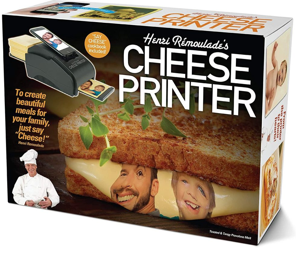 Cheese Printer Gag Gift Box April Fools Day gifts