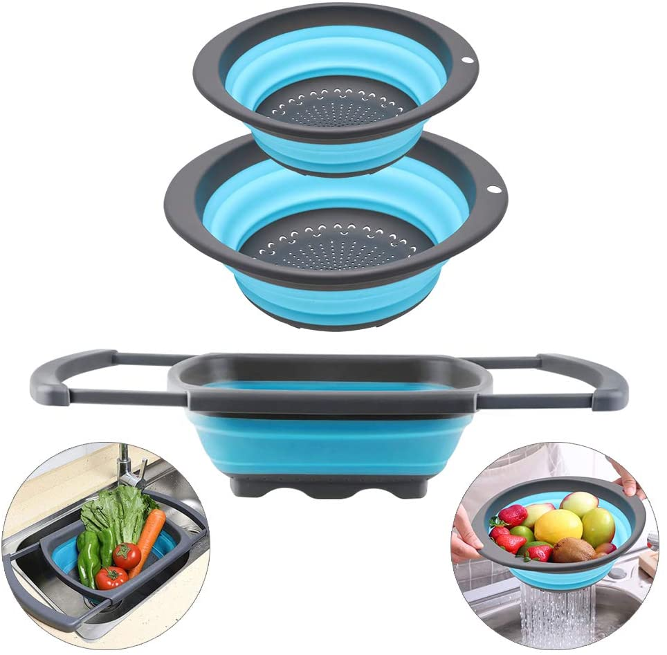 Collapsible strainer kitchen gadget gifts