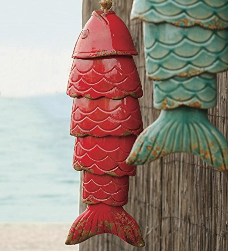 Porcelain Koi Fish Wind Chimes for gifts