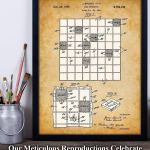Scrabble Gifts Patent Print