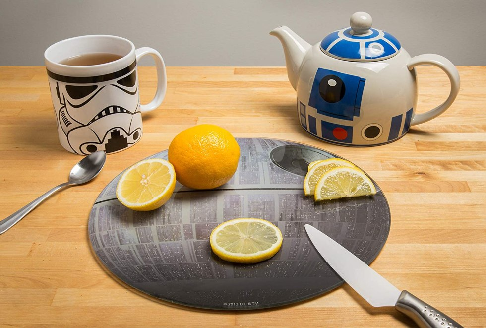 Death Star cutting board Star Wars cooking gifts