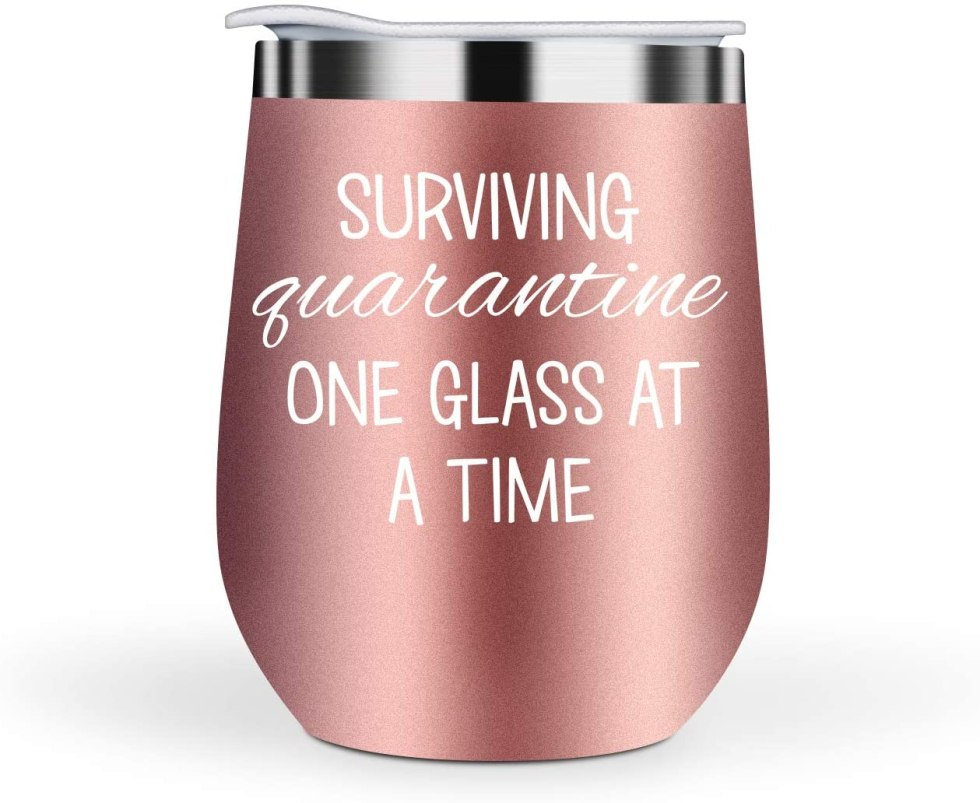 Quarantine Wine Glasses