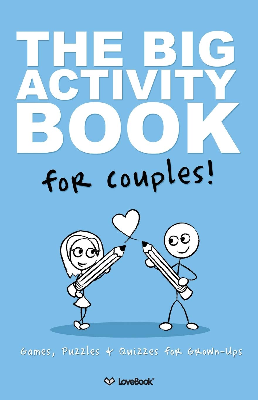 Big Activity Book For Couples anniversary gift