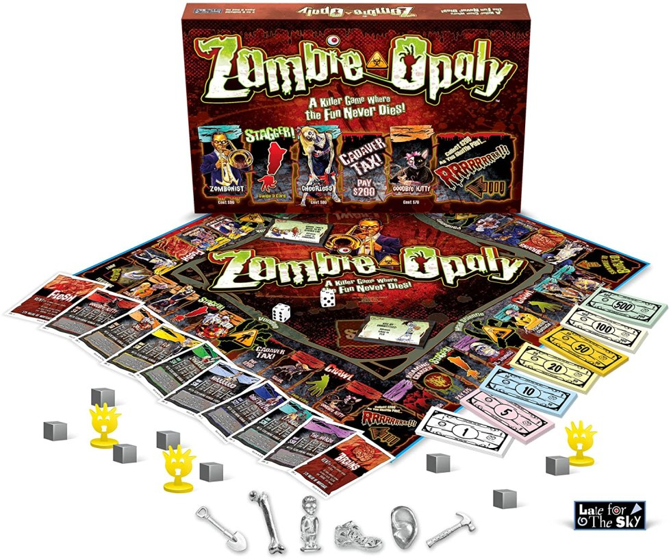 zombie-opoly zombie gifts