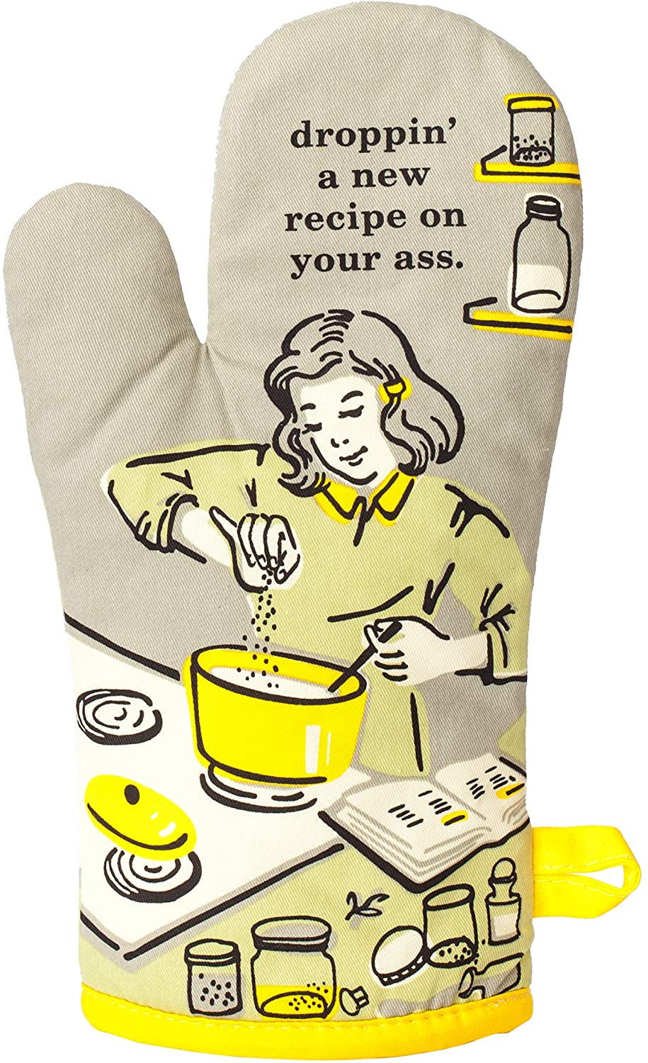 new recipe funny oven mitts