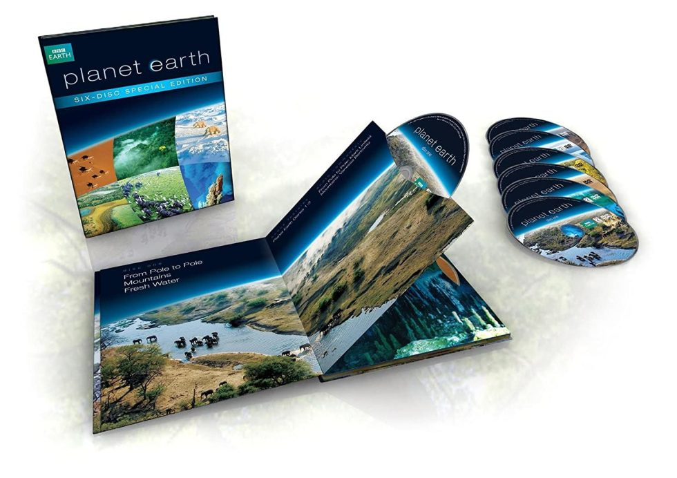 Planet Earth DVD wildlife gifts