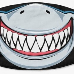 Smiley Shark Mask Gift