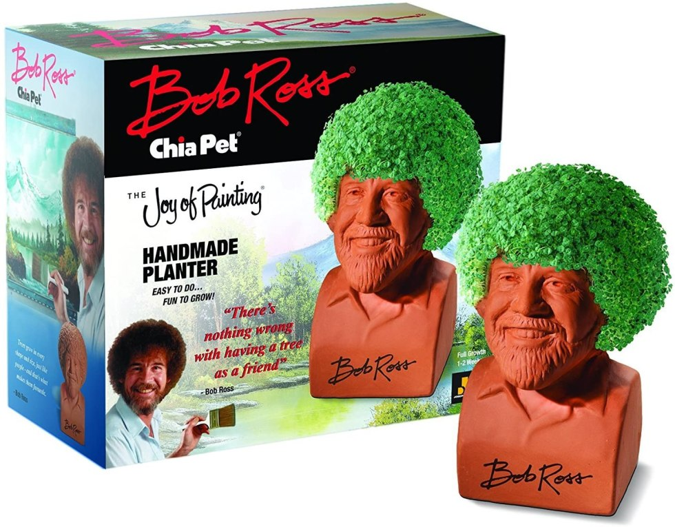 Chia Pet Bob Ross gifts