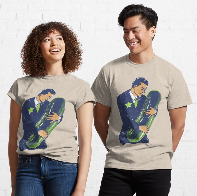 Hold the Pickle T-shirt pickle gift