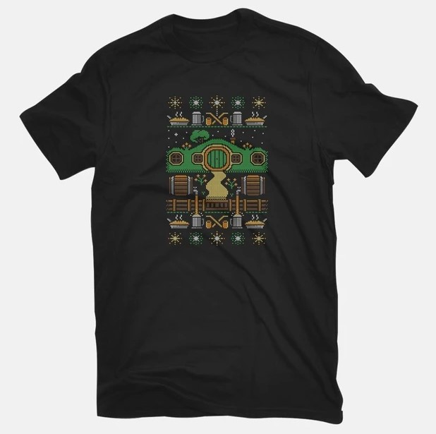 Lord of the Rings ugly sweater