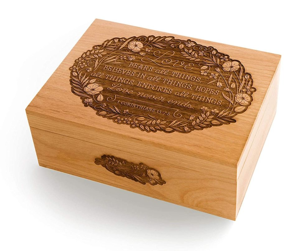 personalized wooden box gifts
