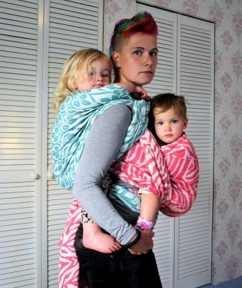 Tutorial: Tandemwearing – FWCC + Rucksack with chestbelt