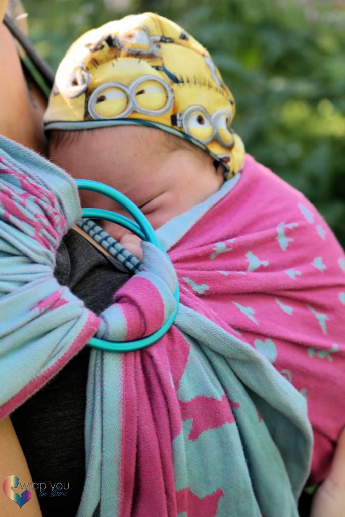 how to break in a ring sling