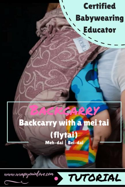 Mei-tai backcarry Image