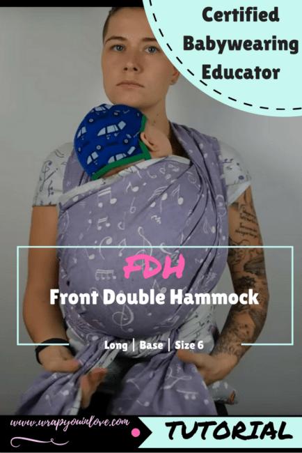 Front Double Hammock - pre tied version Image