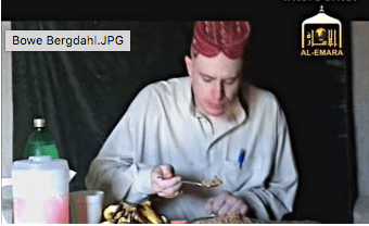 Bergdahl Eating Some Good Food-Chow