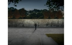 "Proposed World War I memorial in Washington, ""The Weight of Sacrifice."" Credit Joe Weishaar & Sabin Howard"
