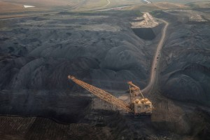 Coal mine in the Powder River Basin