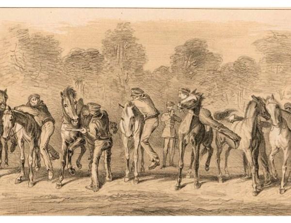 cavalry, Prussian, horse, mount, war