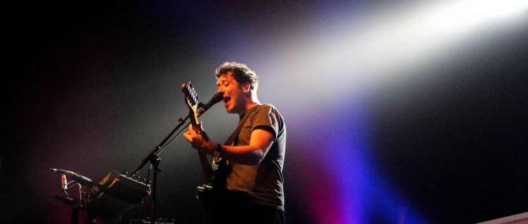 The Wombats combat their exhaustion in final days of tour at