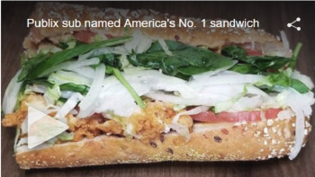 Publix sub named America's number one sandwich