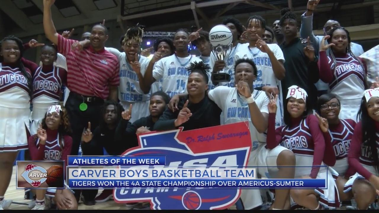 Athletes of the Week: Carver boys basketball