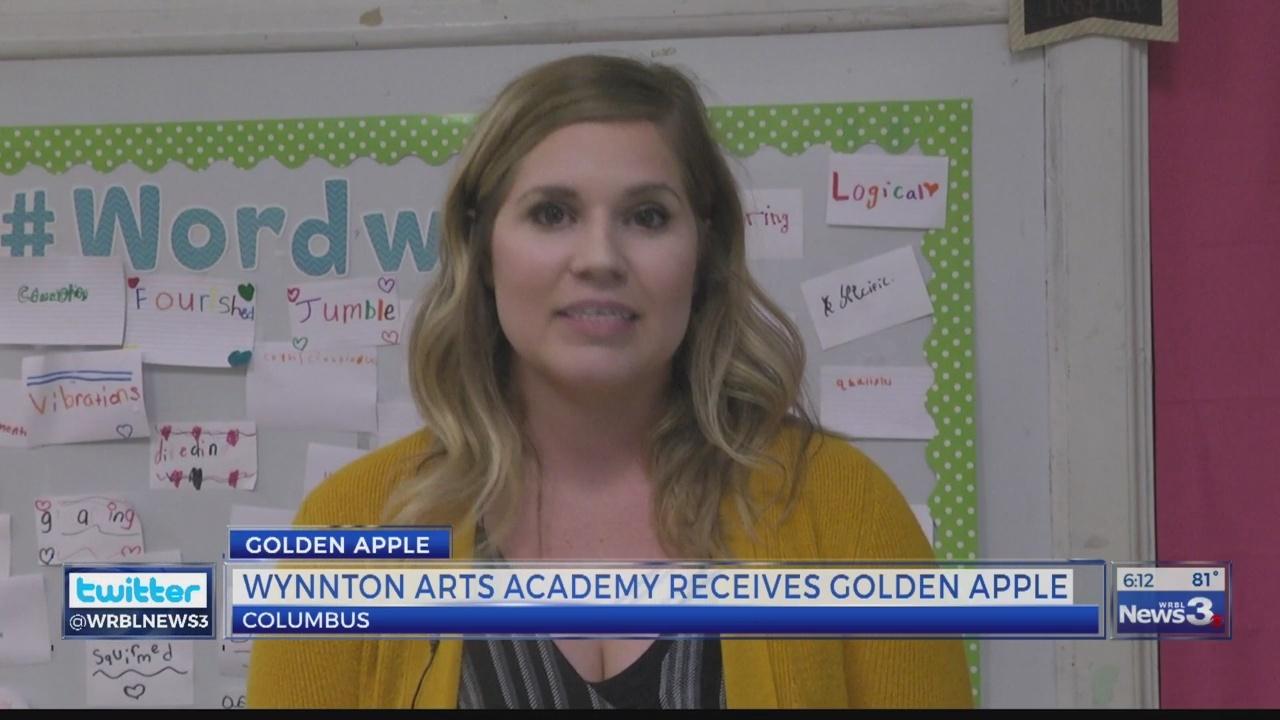 Golden Apple: Kristina Crouch