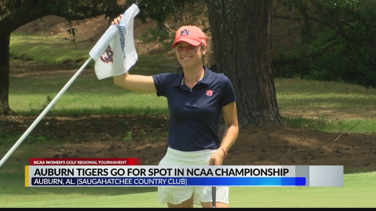Auburn women's golf team advances to NCAA Championship