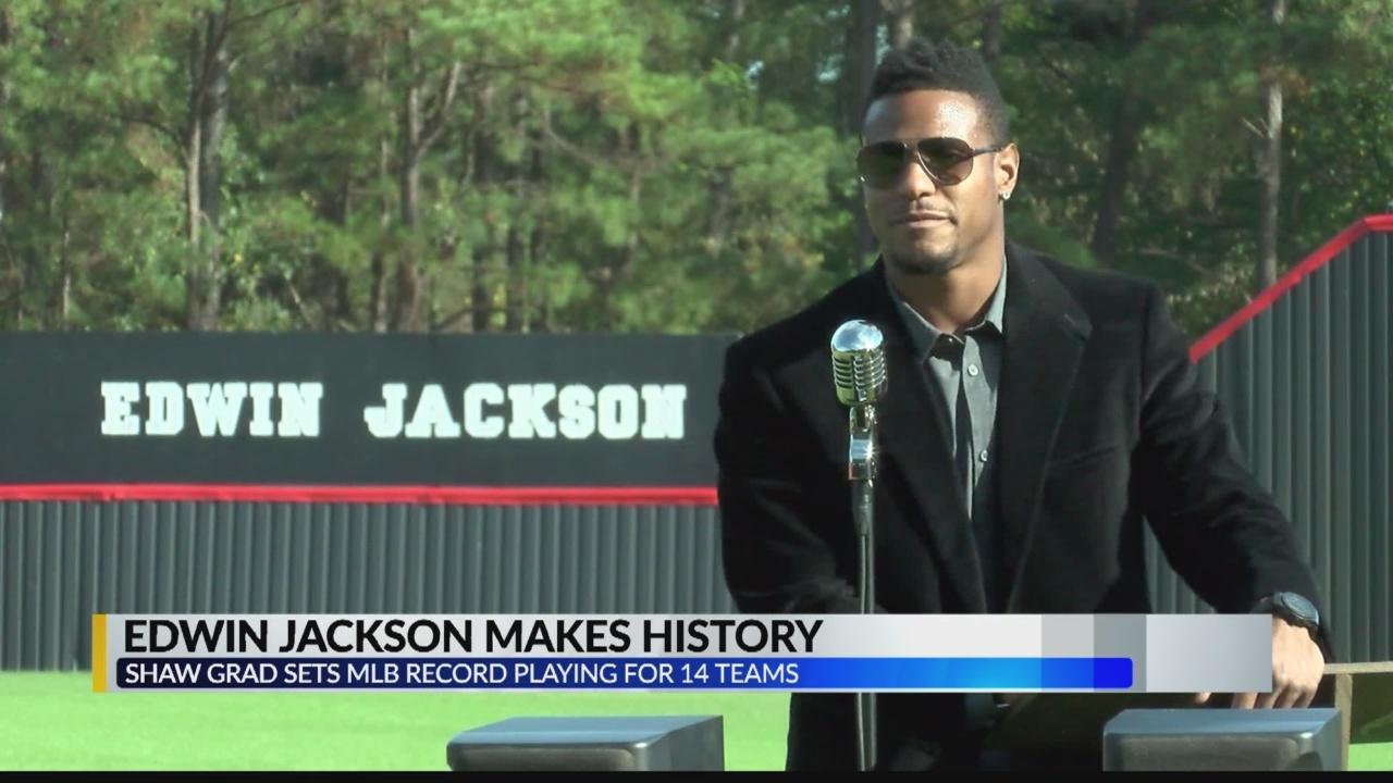 Edwin Jackson makes history