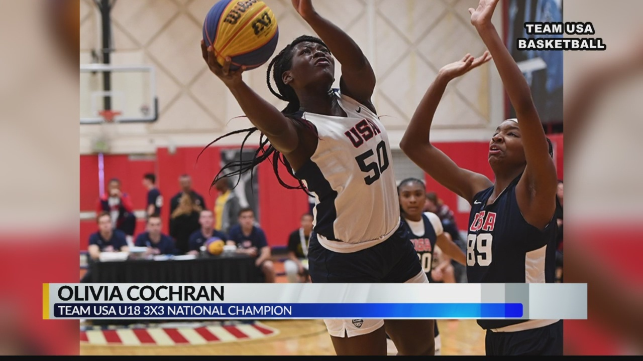 Olivia Cochran invited to play for Team USA in Mongolia