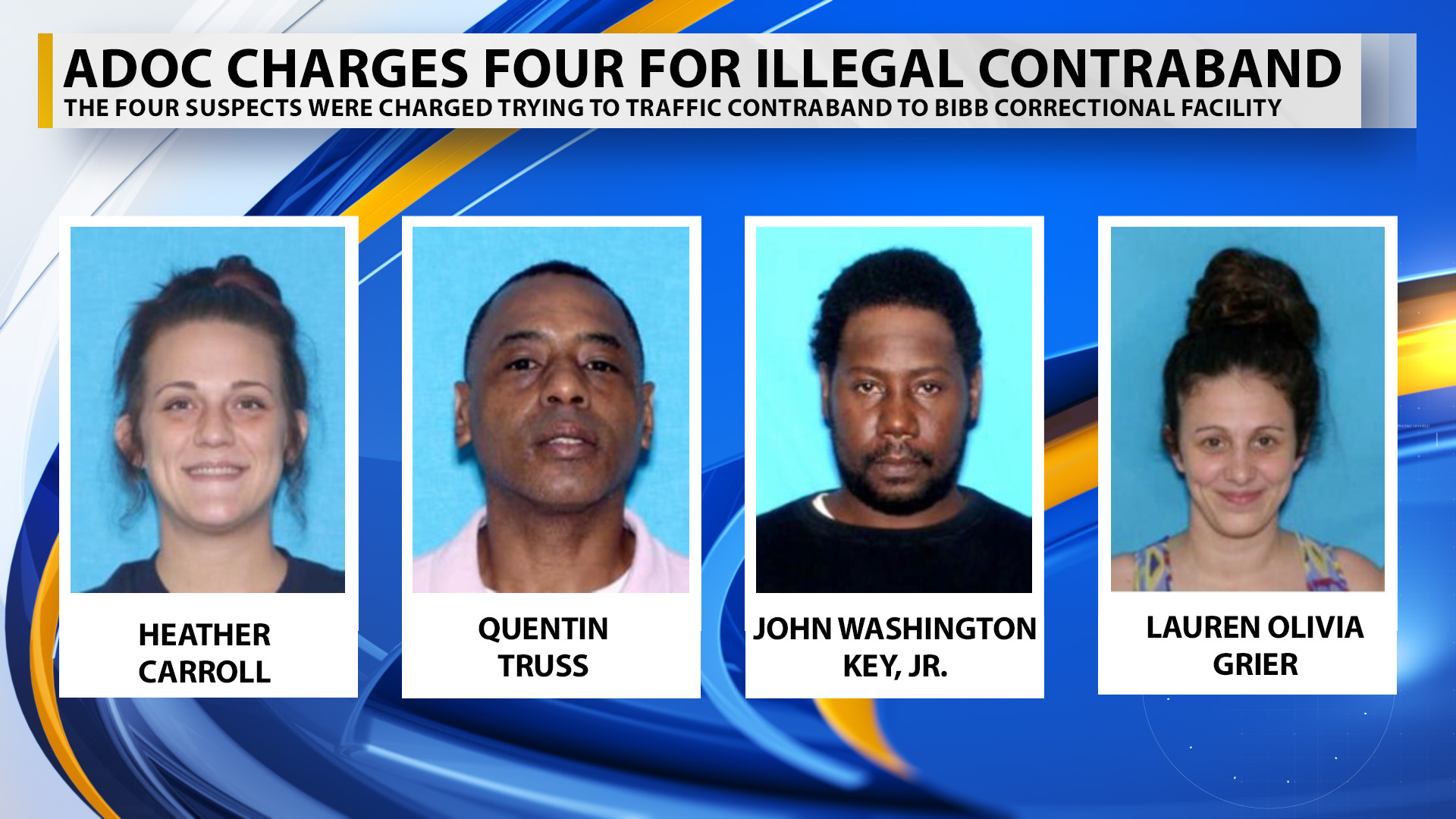 ADOC charges four after finding illegal contraband at Bibb