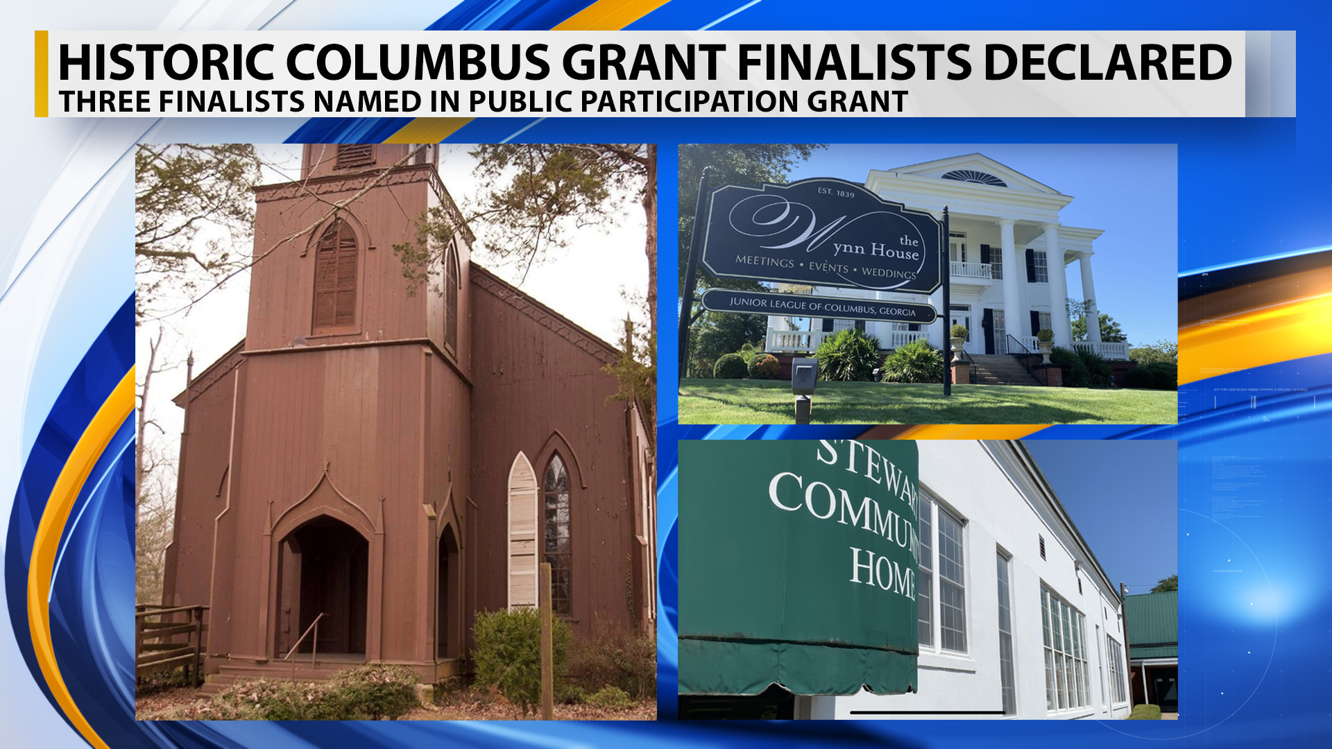 Historic Columbus announces three finalists for $100,000