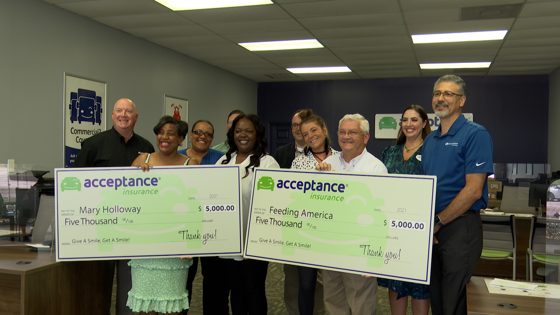 Acceptance Insurance Sweepstakes