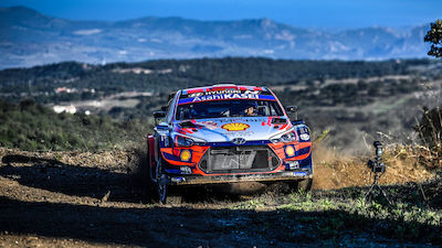 Sordo storms to early Sardinia lead