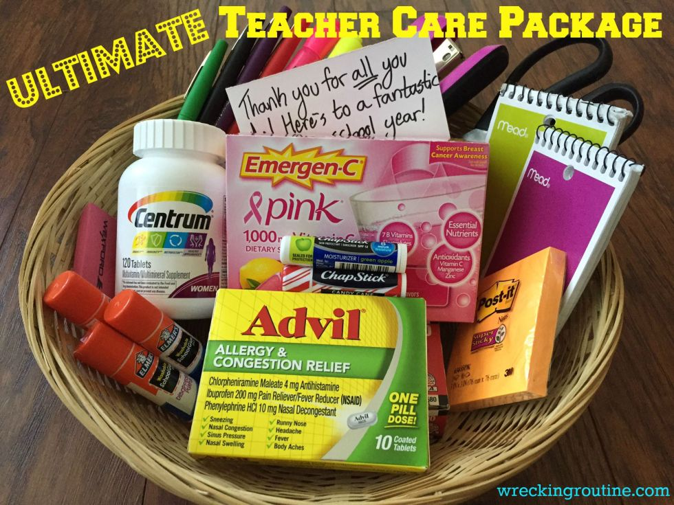 Ultimate Teacher Care Package