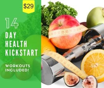 14 Day Health Kickstart with price