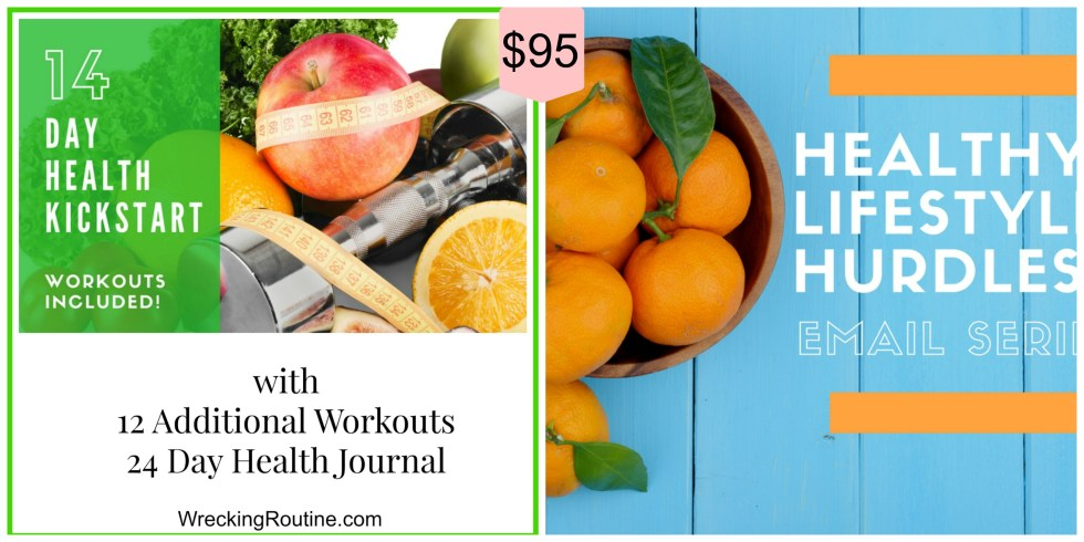 14 Day with Health Journal and Email Series Combo Price