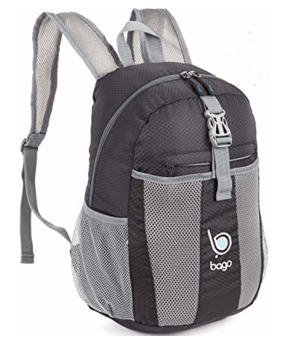Lightweight Backpack with Mesh Pockets