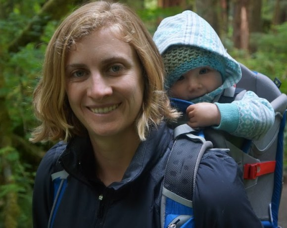 Brooke and Zoey in Olympic National Park