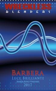 2017 Barbera from Wreckless Blenders