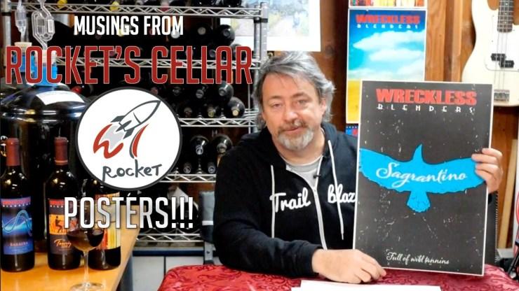 Wreckless Blenders Musings from Rocket's Cellar - Posters!