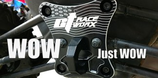 CT Race Worx Can-Am Maverick X3 Billet Proof Radius Rod Plate With Tow Ring Installation